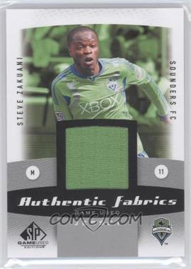 2011 SP Game Used Edition Authentic Fabrics #AF-SZ - Steve Zakuani