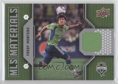 2011 Upper Deck - MLS Materials #M-FM - Fredy Montero