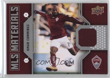 2011 Upper Deck - MLS Materials #M-OC - Omar Cummings