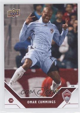 2011 Upper Deck MLS - [Base] #22 - Omar Cummings