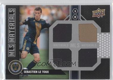 2011 Upper Deck MLS Materials Quad #M-SL - Sebastien Le Toux