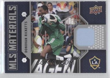 2011 Upper Deck MLS Materials #M-DR - Donovan Ricketts
