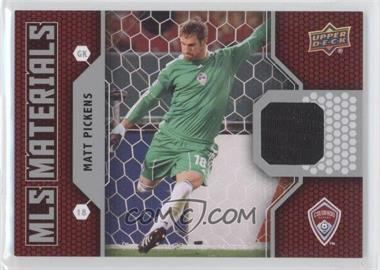 2011 Upper Deck MLS Materials #M-PI - Matt Pickens