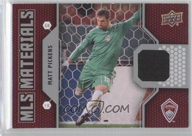 2011 Upper Deck MLS Materials #M-PI - Matt Pickens