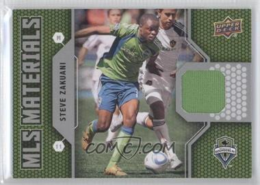 2011 Upper Deck MLS Materials #M-SZ - Steve Zakuani