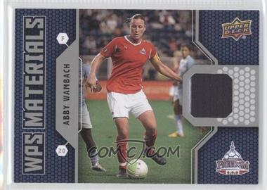 2011 Upper Deck WPS Materials #W-AW - Abby Wambach