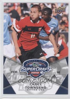 2012 Upper Deck MLS - [Base] #185 - Casey Townsend