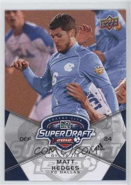 2012 Upper Deck MLS - [Base] #191 - Matt Hedges