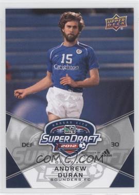 2012 Upper Deck MLS - [Base] #195 - Andrew Duran
