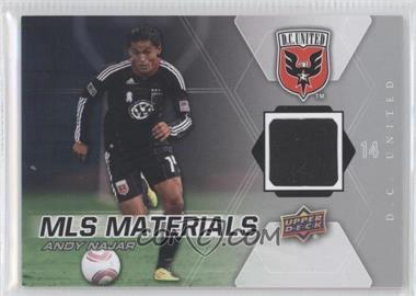 2012 Upper Deck MLS - Materials #M-AN - Andy Najar