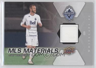 2012 Upper Deck MLS - Materials #M-JD - Jay Demerit