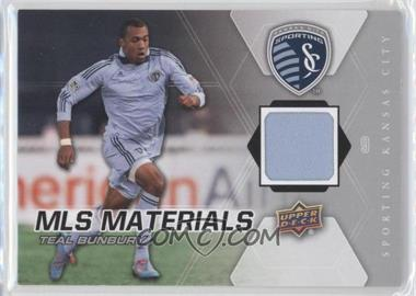 2012 Upper Deck MLS - Materials #M-TB - Teal Bunbury