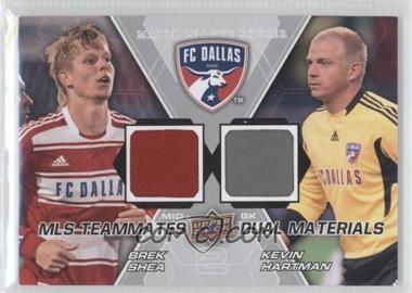 2012 Upper Deck MLS - Teammates Dual Materials #TM-DAL - Kevin Hartman, Brek Shea