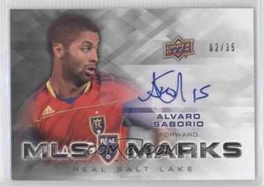 2012 Upper Deck MLS Marks #MA-AS - Alvaro Saborio /35