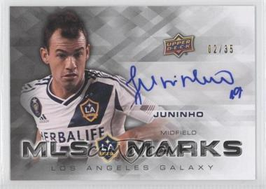 2012 Upper Deck MLS Marks #MA-JU - Juninho  /35