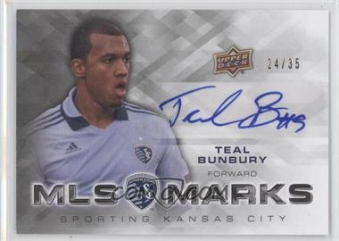 2012 Upper Deck MLS Marks #MA-TB - Teal Bunbury /35