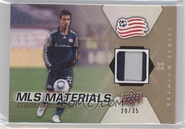 2012 Upper Deck MLS Materials Premium Series Level 1 #M-BF - Benny Feilhaber /35