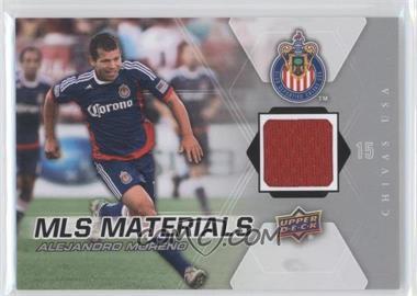 2012 Upper Deck MLS Materials #M-AM - Alejandro Moreno