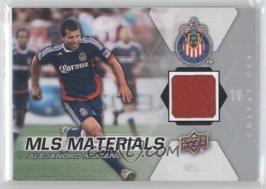 2012 Upper Deck MLS Materials #M-AM - Alejandro Moreno