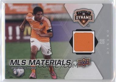 2012 Upper Deck MLS Materials #M-BC - Brian Ching