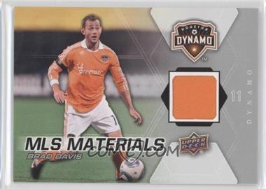 2012 Upper Deck MLS Materials #M-BD - Brad Davis