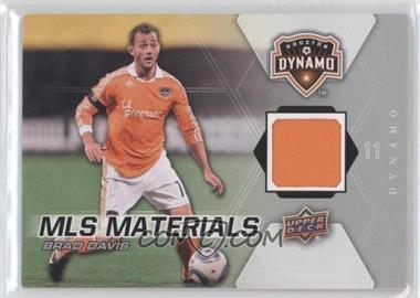 2012 Upper Deck MLS Materials #M-BD - Brad Davis
