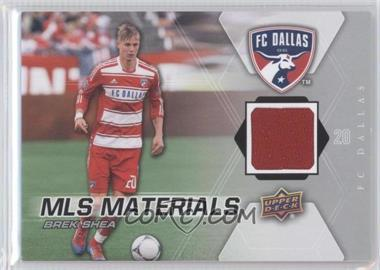 2012 Upper Deck MLS Materials #M-BS - Brek Shea