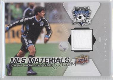 2012 Upper Deck MLS Materials #M-CW - Chris Wondolowski