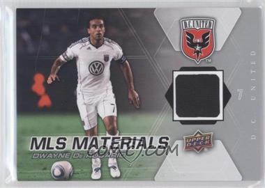 2012 Upper Deck MLS Materials #M-DD - Dwayne DeRosario