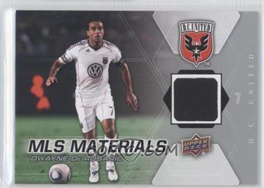 2012 Upper Deck MLS Materials #M-DD - Dwayne DeRosario