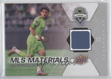 2012 Upper Deck MLS Materials #M-FM - Fredy Montero