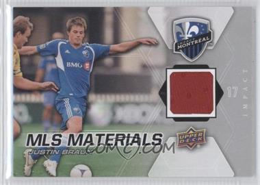 2012 Upper Deck MLS Materials #M-JB - Justin Braun