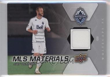2012 Upper Deck MLS Materials #M-JD - Jay Demerit