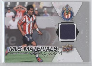 2012 Upper Deck MLS Materials #M-JPA - Juan Pablo Angel