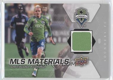 2012 Upper Deck MLS Materials #M-OA - Osvaldo Alonso