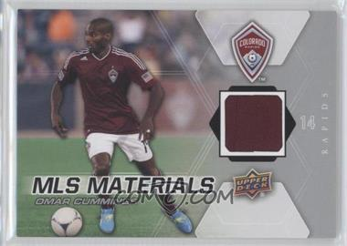 2012 Upper Deck MLS Materials #M-OC - Omar Cummings