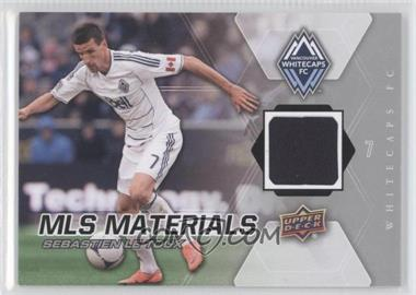 2012 Upper Deck MLS Materials #M-SL - Sebastien Le Toux