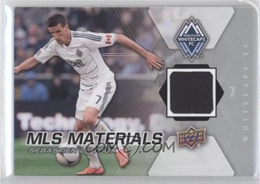 2012 Upper Deck MLS Materials #M-SL - Sebastien Le Toux