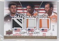 Brad Davis, Chris Wondolowski, Brian Ching /15