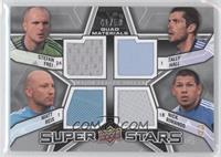 Matt Reis, Nick Rimando, Tally Hall, Stefan Frei /50
