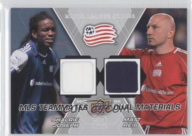 2012 Upper Deck MLS Teammates Dual Materials #TM-NE1 - Matt Reis, Shalrie Joseph