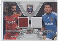 Nick Rimando, Kyle Beckerman