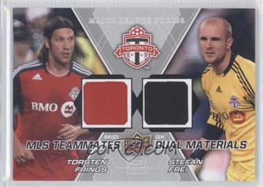 2012 Upper Deck MLS Teammates Dual Materials #TM-TFC - Stefan Frei, Torsten Frings