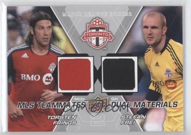 2012 Upper Deck MLS Teammates Dual Materials #TM-TFC - Stefan Frei, Torsten Frings