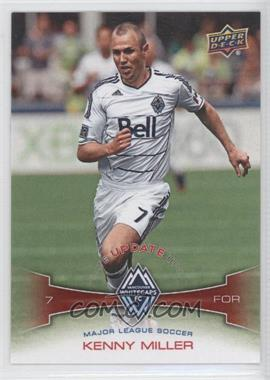 2012 Upper Deck MLS Update #U11 - Kenny Miller