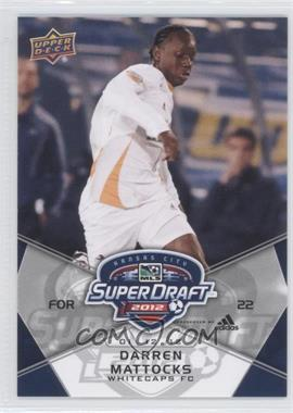 2012 Upper Deck MLS #182 - Darren Mattocks