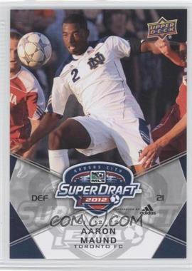 2012 Upper Deck MLS #192 - Aaron Maund