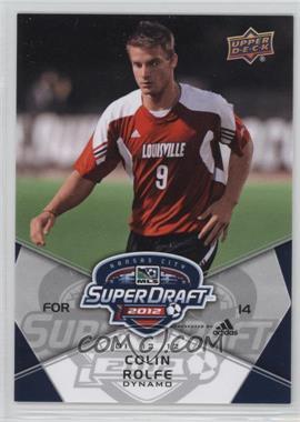 2012 Upper Deck MLS #198 - Colin Rolfe