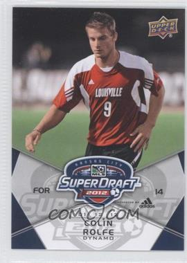2012 Upper Deck MLS #198 - Colin Rolfe