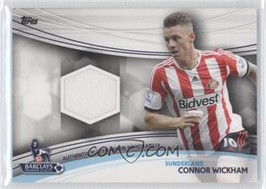 2013 Topps English Premier Gold - Jersey Relics #JR-CW - Connor Wickham